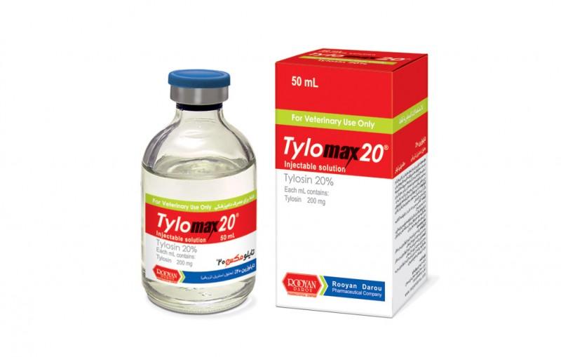 آنتی بیوتیک تایلومکس برای درمان ذات الریه دام
